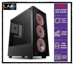 Gamer / Ryzen 5 3600 / Gtx 1660 Super / 32Gb Ddr4 3200Mhz / Ssd M.2 256Gb / Water Cooler
