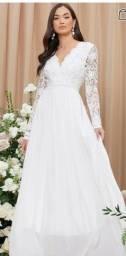 Título do anúncio: Vestido noiva jantar/civil