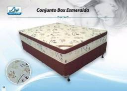 Cama Unibox Casal molas ensacadas individualmente