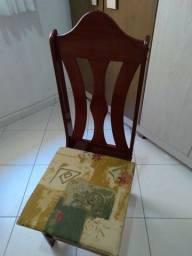 Cadeiras $60,00  cada