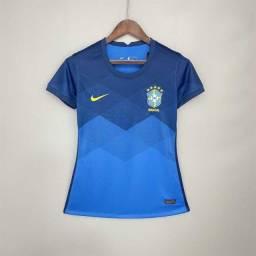 camisa da seleção brasileira torcedor II - feminina