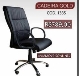 Cadeira presidente Gold - entregamos e montamos