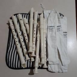 Flauta doce germano Yamaha