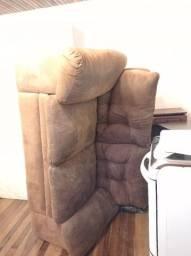 2 sofás de camurça
