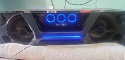 Título do anúncio: Mini system panasonic com controle.