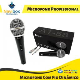 Microfone Profissional Dinâmico | A1-58