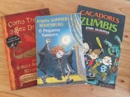 3 Livros Infanto Juvenil