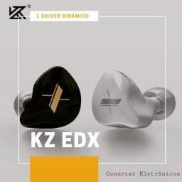 Fone KZ EDX (Lacrado)