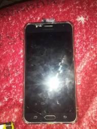 Vendo celular j7 Prime apenas um pouco quebrado