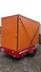 Título do anúncio: Pedido: 5 Containers 3 metros + Carretinha de Transporte
