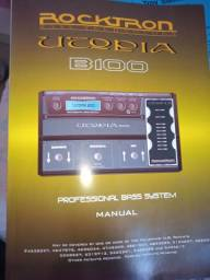 Manual b100 utopia rocktron bass