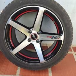 """Jogo Rodas GT-7 spec 2 Aro 17"""""""