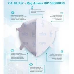Máscara GVS Aero2 N95 Branca PFF2 Hospitalar