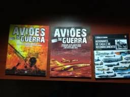 Livros aviões de guerra