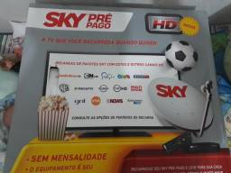 Vendo pre pago da sky HD