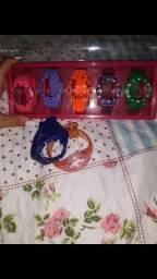 Relógio Champions troca pulseiras