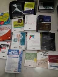 Livros de Direito (Diversos Temas: Trabalho, Penal, ECA, Tributário, Arbitragem)