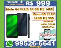 """Novo Moto G6 Play 32GB 999 _NOTA_F*I*S*C*A*L"""" g5s lacrado545gtts"""