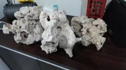Rochas para aquario marinho
