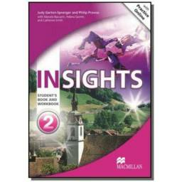 INsights Student's Book With Workbook & MPO-2 (Inglês)