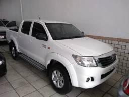 Toyota Hilux CD SR 2.7 2015 - Completo - Automático - Único Dono - Troco/Financio - 2015