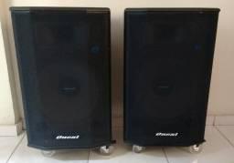 Duas Caixas Acústicas Oneal Ativas [Novas/ Praticamente Não Usadas]
