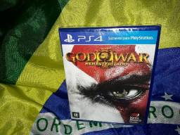 Jogo God of War 3 PS4 (novo/lacrado)