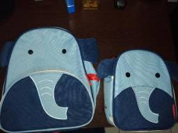 Kit Mochila E Lancheira Skip Hop - Elefante - Original