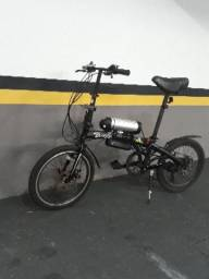 Bicicleta elétrica dobrável Pliage Two Dogs preta fa561345e4