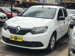 Renault Logan 2018 + GNV (Único Dono, taxa 0,65%) - 2018