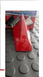 Antena Barbatana turbao c sinal radio core vermelho preto Fosco Prata branco mhsdb cqtlk