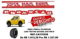 Pneu Pirelli Scorpion 255/70R16 L200 Triton Savana (Original)