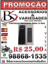 Controle Universal Para Tv-Box - (Loja BK Variedades) Aceitamos Cartão de Crédito