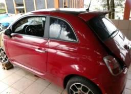Sucata Fiat 500 14 para retirada de peças
