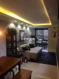 Excelente apartamento 2 dormitórios 100% mobiliado FICA TODO MOBILHADO E DECORADO