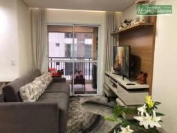 Apartamento com 2 dormitórios à venda, 66 m² por R$ 428.000 - Vila América - Santo André/S