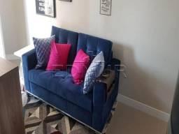Apartamento à venda com 1 dormitórios em Vila valparaíso, Santo andré cod:28353