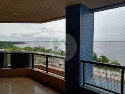 Apartamento com 3 Suítes e Vista para o Rio Negro a venda, Condomínio Aruba, Ponta Negra M
