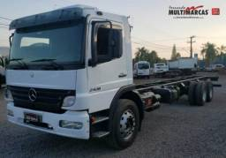 Mercedes Benz Atego 2428 - No chassi