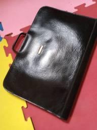 Bolsa /pasta de couro legítimo