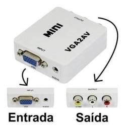 Conversor VGA para AV (RCA)