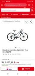 Bike Caloi apenas 1 mês de comprada