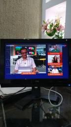 Tv Monitor marca AOC Em Ótimo Estado, Funcionando Perfeitamente, Com os Cabos, Tudo Ok
