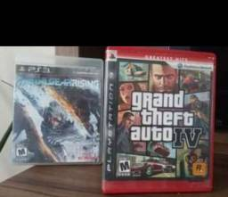 GTA IV + Metalgear PS3 por R$50