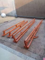 Barras pulverizador AD 18 - Jacto - 04 peças pelo valor - Novas