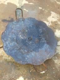 Grelha/chapa de ferro artesanal