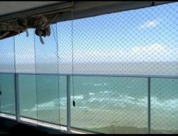 Apartamento c/vista direta pro Mar/aluga mobiliado ou só projetado/187 metros