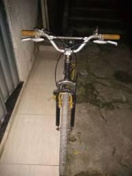 Bike com quadro de mola