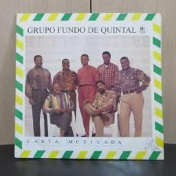 Lp Disco De Vinil Grupo Fundo De Quintal - Carta Musicada