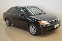 Honda Civic LX 1.7 - completo - ano 2002